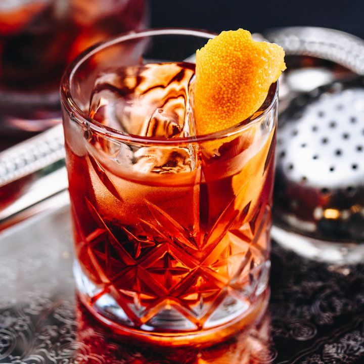 Atrás da bebida: o Negroni