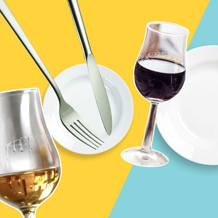 Có, bạn có thể uống rượu tráng miệng với bữa tối