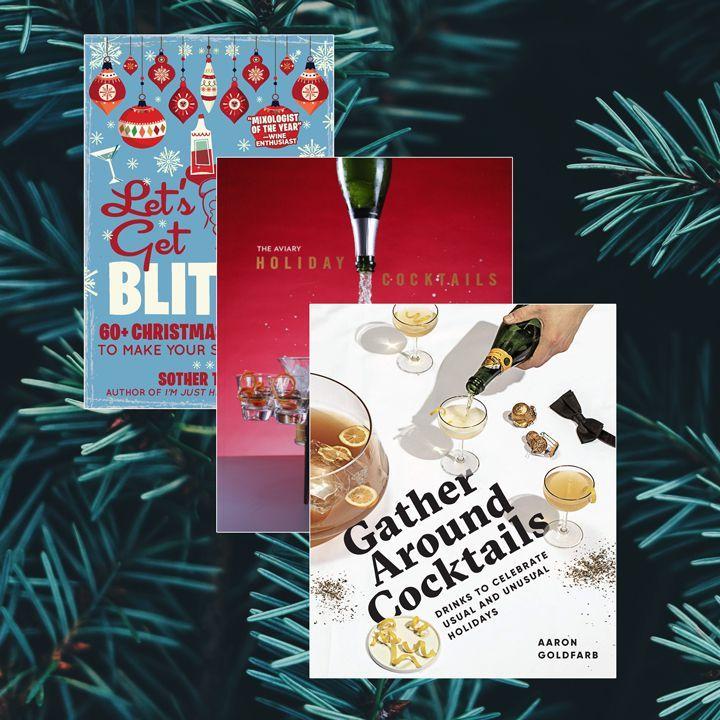 3 ponadczasowe świąteczne książki koktajlowe, które każdy barman musi przeczytać