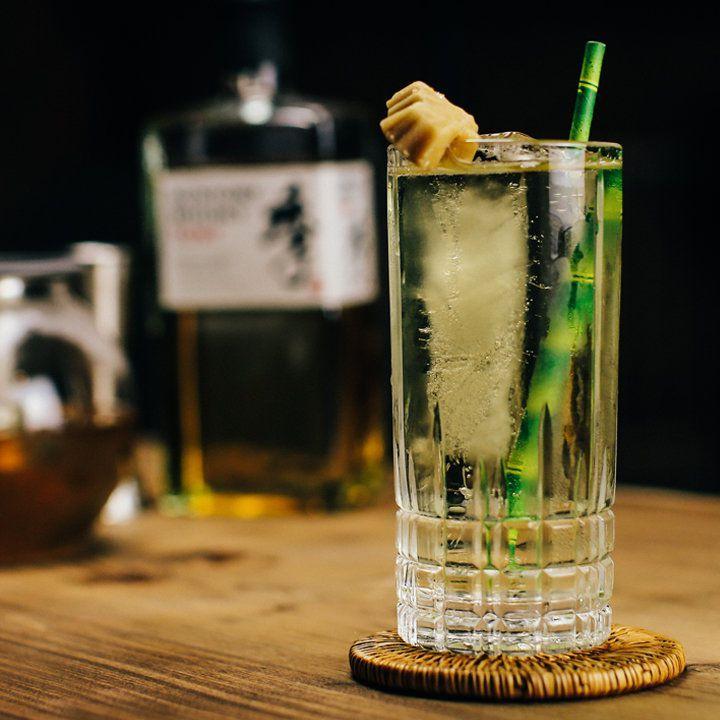 Zelený čaj Highball
