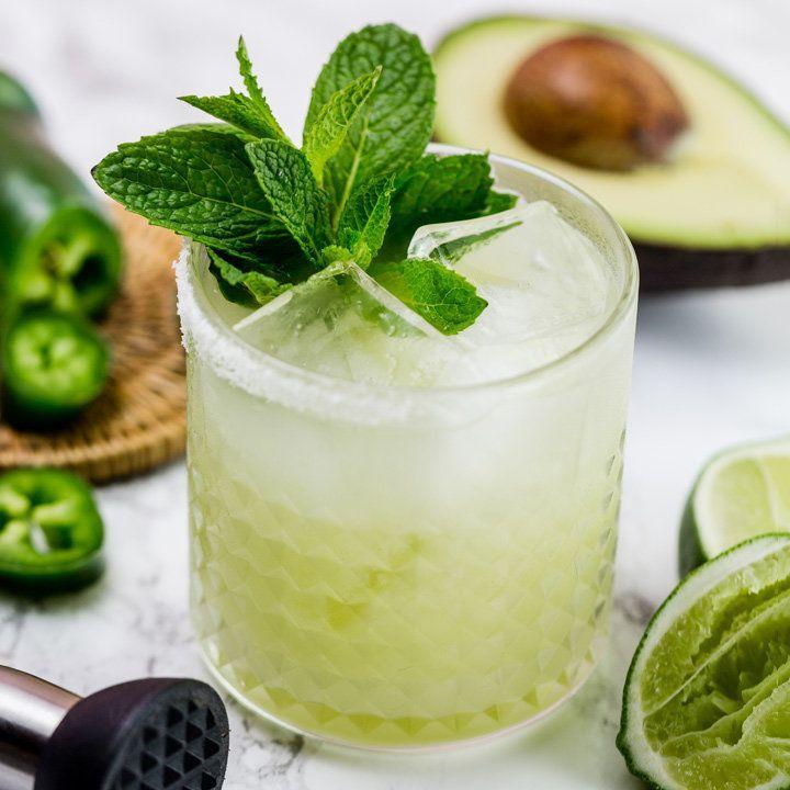 Avocado Margarita Mint Pedas