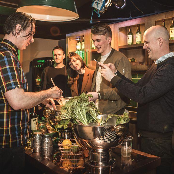 Vad händer med irländsk whisky i sitt hemland?