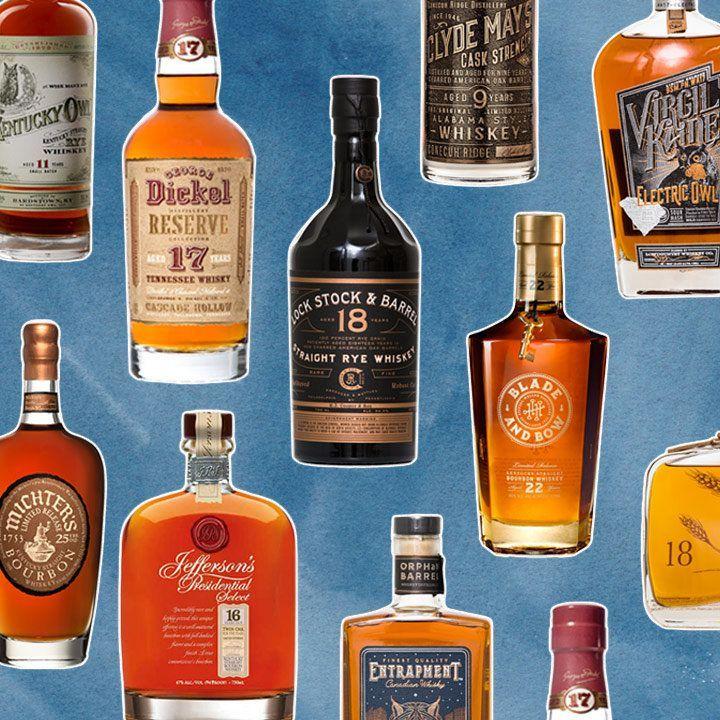 Aranacak 10 Büyük Yaşlı Bourbon ve Ryes