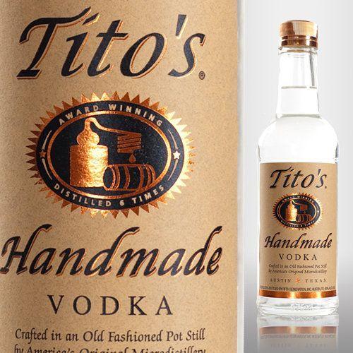 Vodka fet a mà de Tito