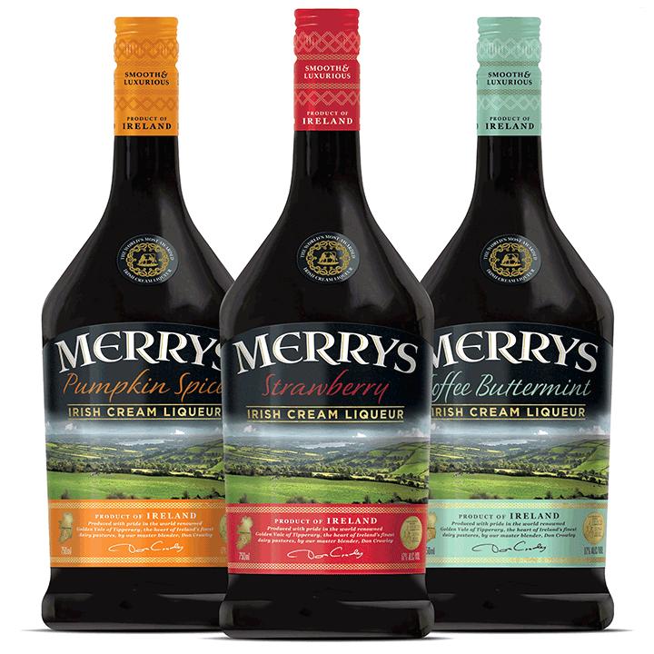 Merrys Irish Cream Liqueurs